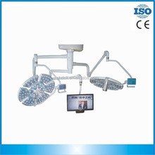 Ceiling surgical led operating lights with camera