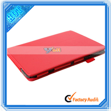 """7.9"""" Litchi Grain Two-Folded PU Leather case tpu tablet for Iconia A1 Red"""