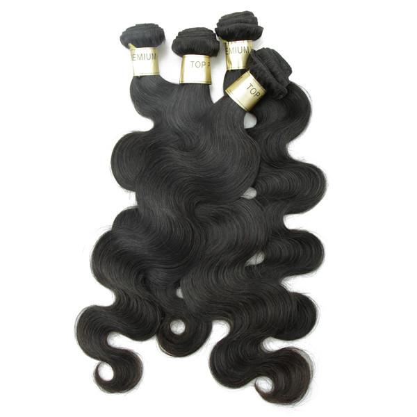 JP Livraison gratuite excellente cheveux faisceau de Péruvienne vague de corps cheveux humains trame