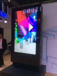network low cost 75 nch outdoor application LCD display/digital signage/ digital kiosk for advertising