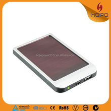 Newest portable solar cell power bank for laptops and phones
