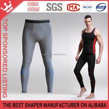 Bamboo Fiber Tummy Control Strong Pressure Jogger Pants For Man