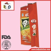 coffee pouch tea bag side gusset bag pouch with vavle