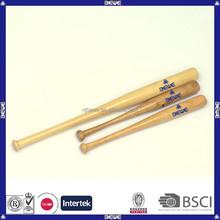 best price various sizesand OEM logo customized small size wood baseball bat