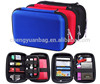 Nylon cable organizer case digital bag charger power mp3 headphones usb