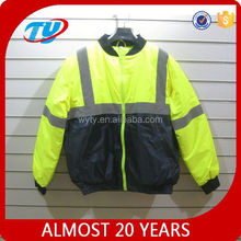 2014 nuovo stile di sicurezza di alta qualità giacca invernale riflettente