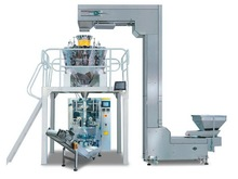 Chicken feet, egg roll, crispy rice, soybean, sugar packing machine with multihead weigher