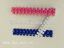 2-pole parallel insulated wire electric terminal block