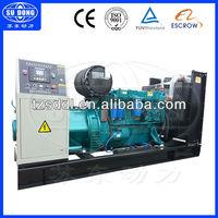 250kw/312.5kva Weichai diesel generator set price list