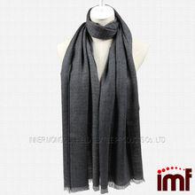Latest Fashion OEM 50% Wool 50% Cashmere Scarf Shawl Wraps