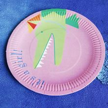 disposable paper plate / fishing paper plates / themed party products