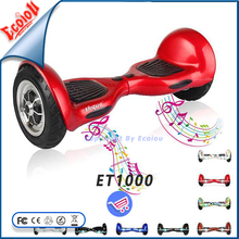 hot selling two-wheel intelligent drifting driving scooter wheelboard scooter elettrico for Christmas gift