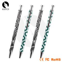 colorful design commercial crystal pen for Japan market