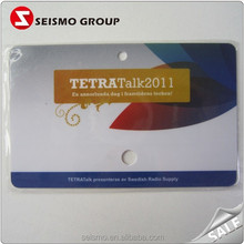 Customized Fashion PVC Advertising Cards