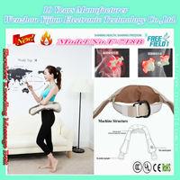vibration fat burning massage belt F-718B 2015 New Model Patent Best shoulder back belt Kneading Massage Belt
