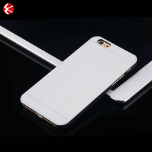 2015 hot sale ultra thin bushed aluminum hard slim hard back protective cover case for iPhone6