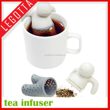 Low price new hottest popular wholesale rubber cheap tea infuser