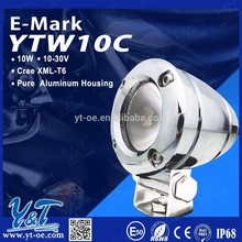 Y&T High quality cheap off road lights 10w led motorcycle driving lights