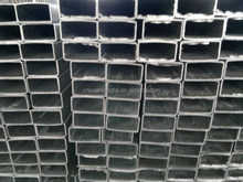 Galvanized rectangular steel pipe /manufacturer/high quality/in stock made in China