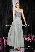 2014 Spring Good Time usa Free Shipping Worldwide Backless Sequin Prom Dresses for Full Figured Women XT-701