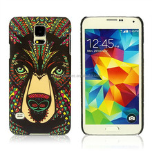 2015 New Design Night Light Tiger Embossment PC Hard Cover For IPhone 6/6 Plus