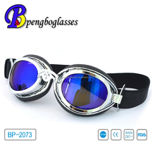 UV protection impact resistant motorcycle riding goggles