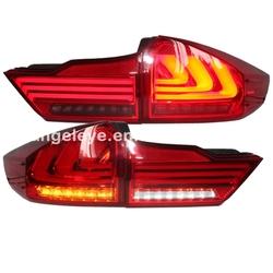 2014 year For HONDA For City LED Rear Light Red Black Color