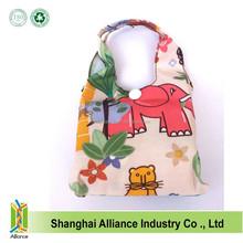 Fashional and pretty design foldable Eco-friendly reusable swim tote bag