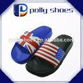 custom bandeira país calçados para adultos no chinelo eva