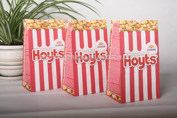 wholesale popcorn bag / custom logo popcorn bag / foodgrade popcorn bag