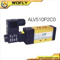 5/2 way solenoid valve pneumatic air valve