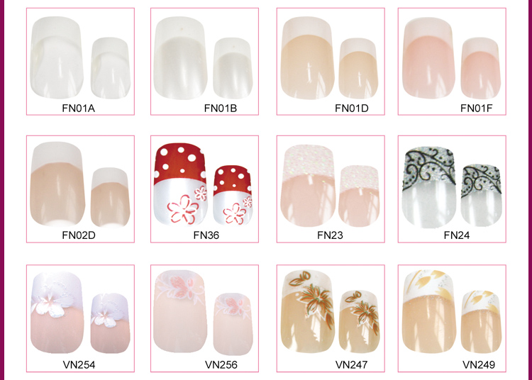 Diffe Types Of French Nail Tips
