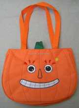 Wholesale halloween pumpkin bags led gift bags