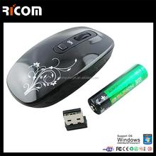 2.4ghz cordless optical computer mice,2.4ghz wireless optical computer mice,quality cheap white rf mouse--Shenzhen Ricom