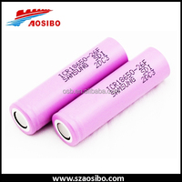 Selling samsung rechargeable battery 3.7v 2600mah icr18650 26f lithium ion battery