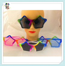 Cheap Party Funny Plastic Star Shaped Glasses HPC-2226
