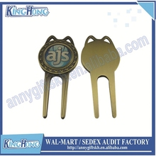 Personalized Golf Divot Repair Tool with ball marker make your own logo