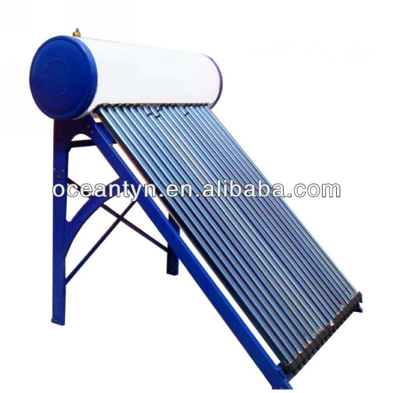 100l eau solaire heater avec des tubes sous vide chauffe for Chauffe eau solaire sous vide