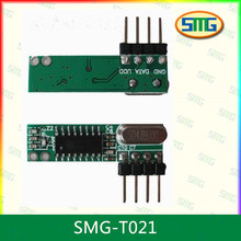 eV1527 learning code receiver PCB module with simple micro decoder