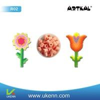 ARTKAL fuse beads R02 R-5mm 88 colors abt 16, 500 beads/1kg/bag/color intelligent diy toy kids handwork craft