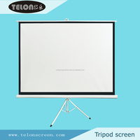Tripod Portable Screen/Tripod Standing Projector Screen/Large Amount Offer for Business &Education