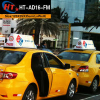 Auto lighting led lamp taxi advertising roof top