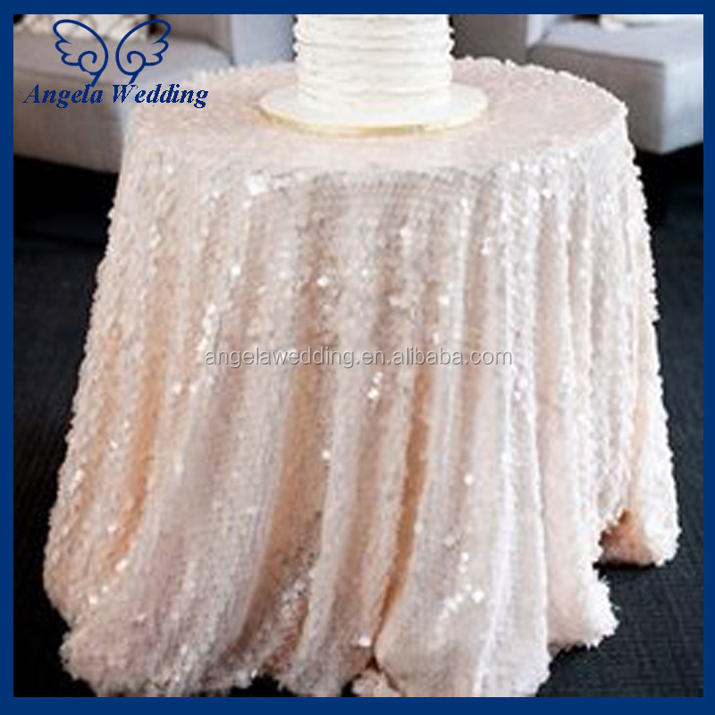 Cl010a Cheap Hot Sale Elegant Polyester Blush Pink Curly