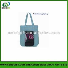 2012 Europe promotional canvas shopping bag
