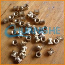 Made in china Fasteners brass knurled flat head nut