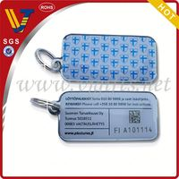 promoting magnetic key fob with qr code