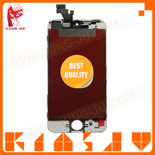 Mobile phone accessory OEM for iphone 5G parts,No dead pixels LCD assy for iphone 5G,Black/White screen for iphone 5G