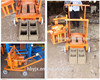 Promotional movable cement block machine QT40-3 price concrete block machine at home