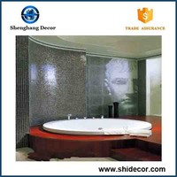 New products bathroom mosaic floor tiles looking for distributor