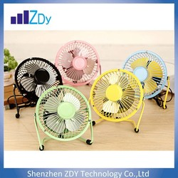2015 Summer hot selling products portable mini USB fan for 4/6/8 inch,USB fan with 360 Degree Rotation